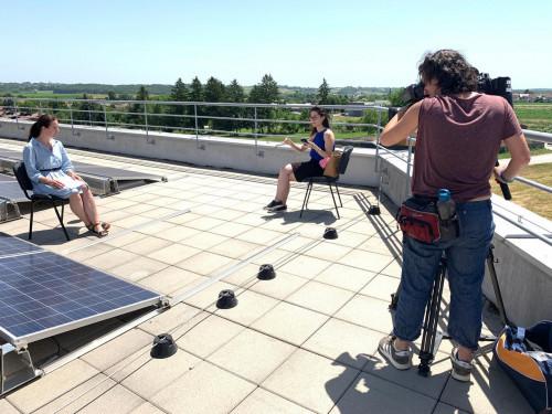 Обществени сгради в Хърватия не плащат сметки за ток чрез соларни панели на покрива