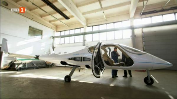 """Проектът """"Фларис"""": Най-малкият пътнически самолет в света"""
