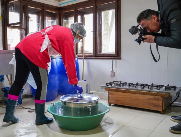 Фоторазказ: Уникални биопродукти от Кремиковския манастир