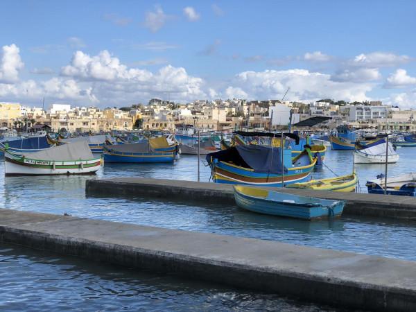 Лодките Луцу - безценното съкровище на рибарите от Малта